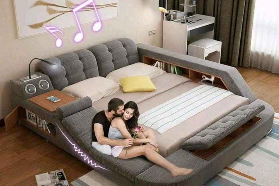 This Modern Bed You Will Never be Able to Leave