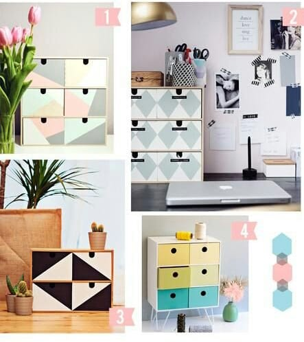 DIY Ideas: Paint the Old Dresser and Revive it