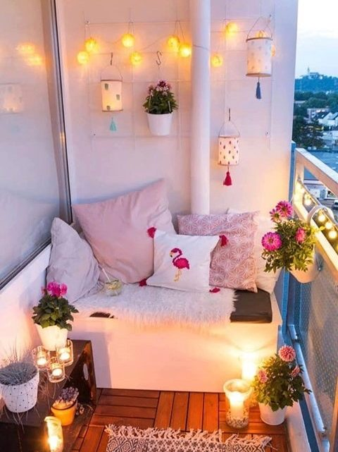 Lovely Balcony Corners Designs