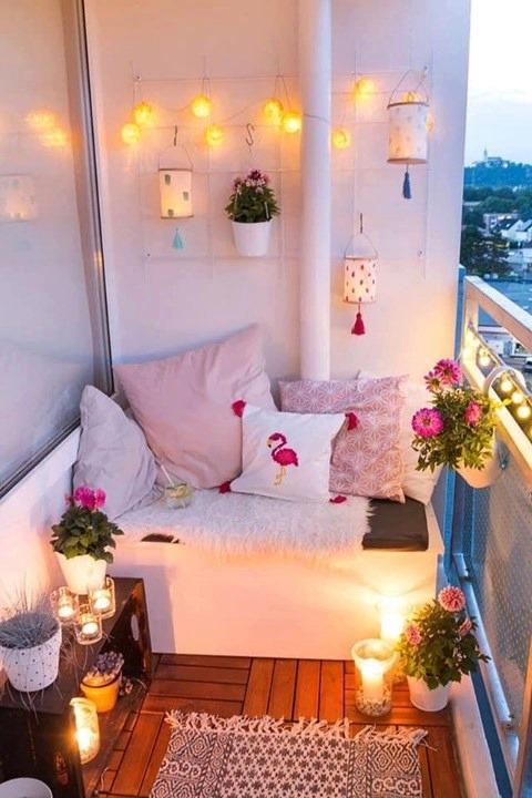 Lovely Balcony Corners Designs