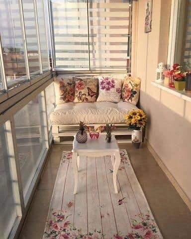 small balcony areas