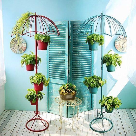 umbrella plant stand