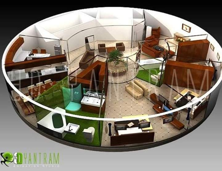 Amazing 3D House Plans Will Inspire You
