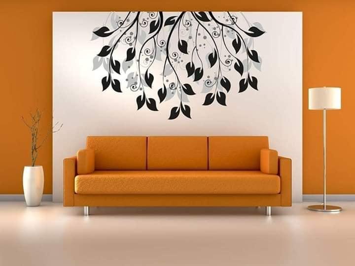 living room walls decor