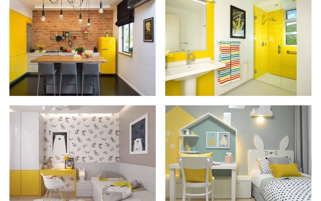 Create a Vibrant Home with Yellow Color