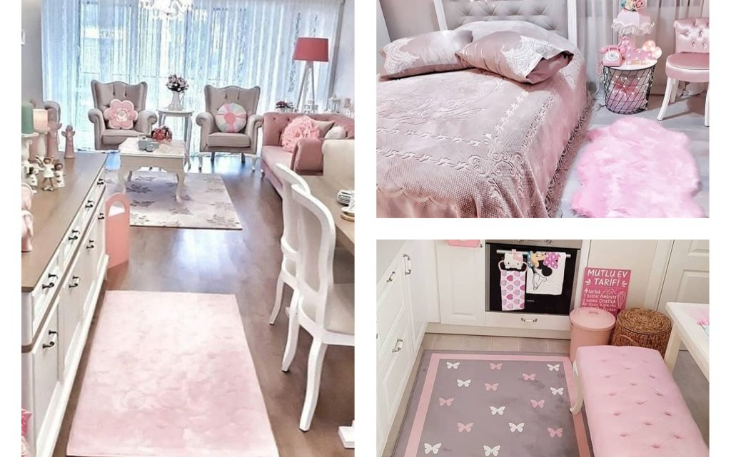 Cute Pink Interior to Take Ideas From