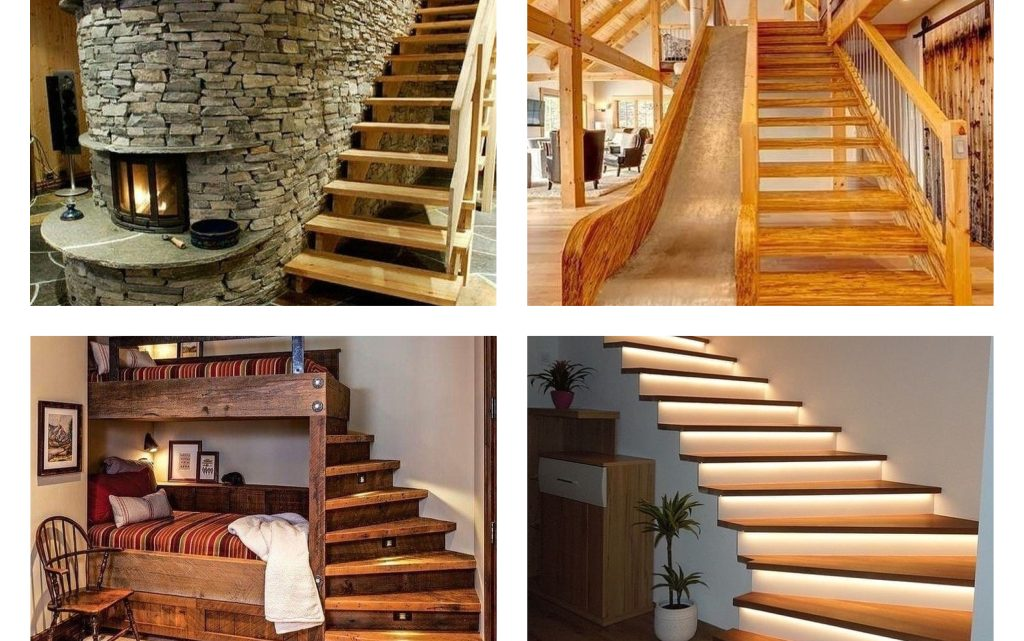 Magnificent Interior Wooden Stairs to Fall in Love With