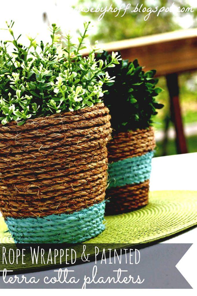 DIY flowe vase