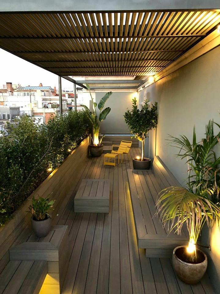 amazing wooden balcony deck