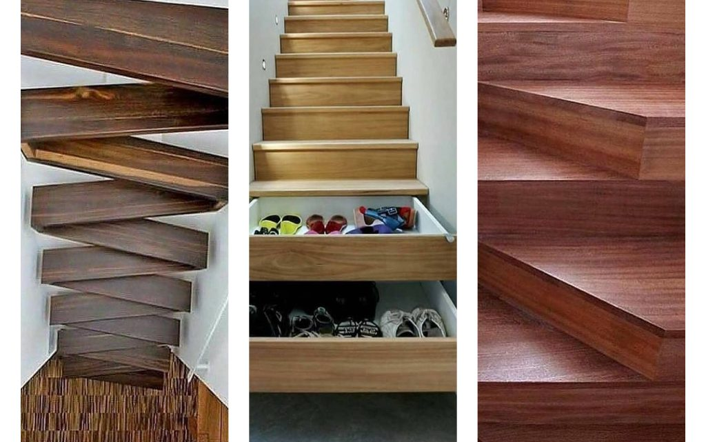 Multifunctional Wooden Stairs Looks Impressive