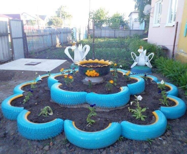 Creative and Stunning Tires Reuse Ideas