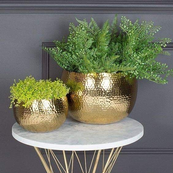 golden vases