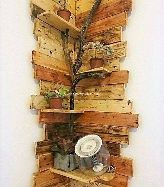 Amazing Wooden Shelves for Modern Walls