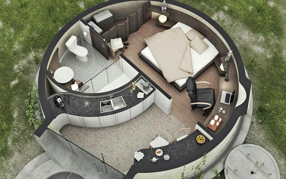 round house plan