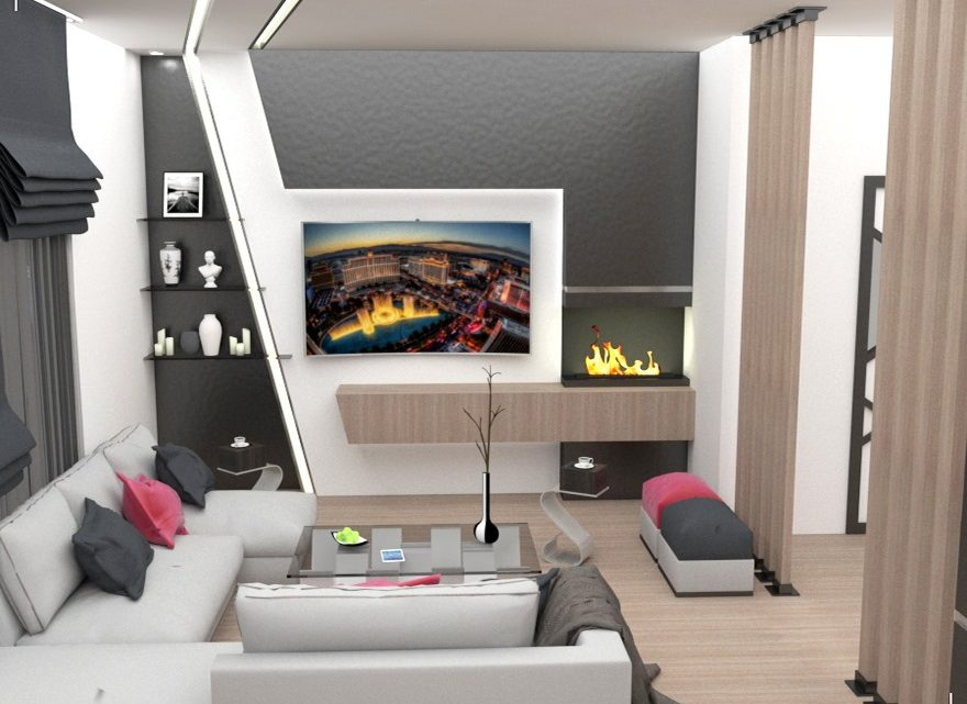 Lovely TV Wall Units