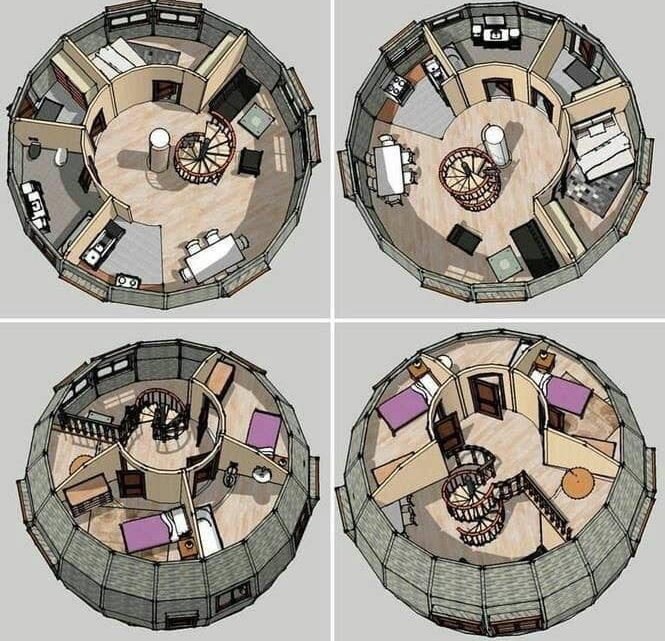 Stunning Round House Plans