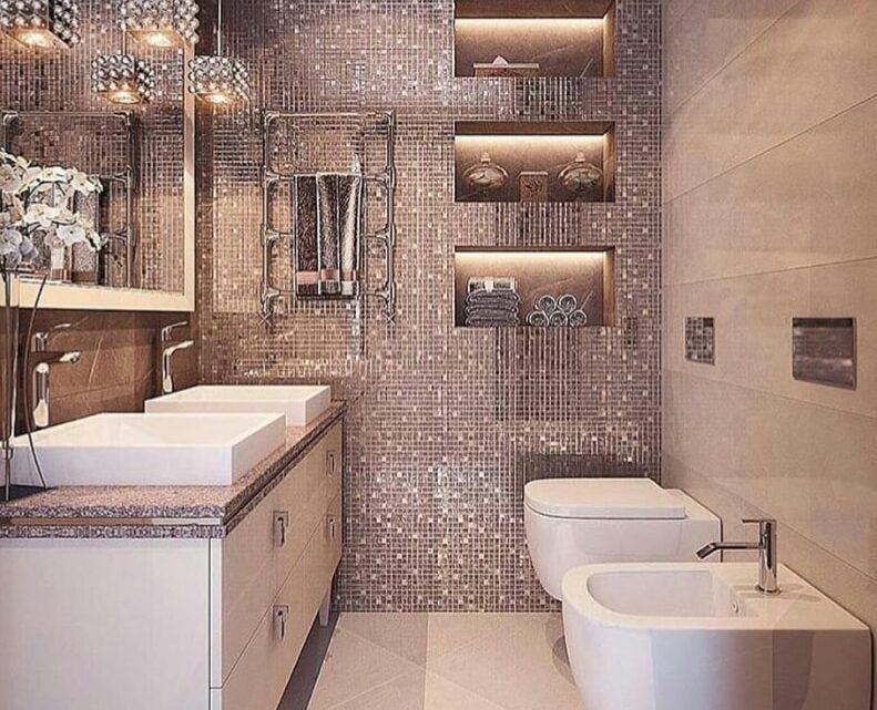 Nice Bathroom Wallpapers for Modern Bath Walls
