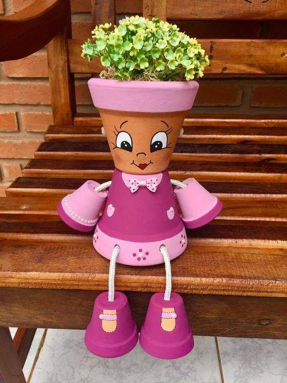 Keep it Relax & Make These Cute Flower Pot People in Easy Way