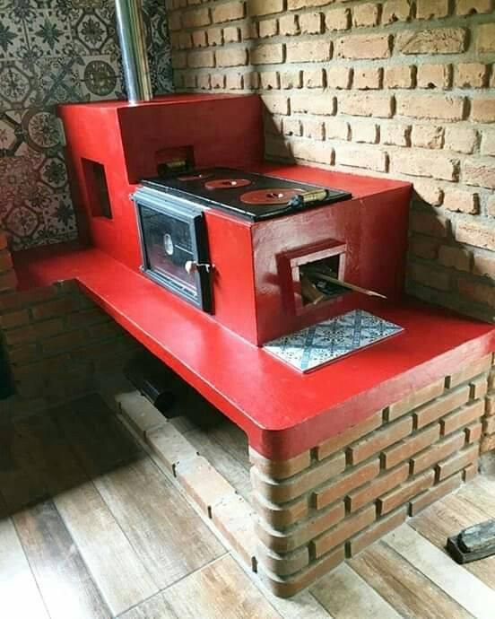 bricks kitchen