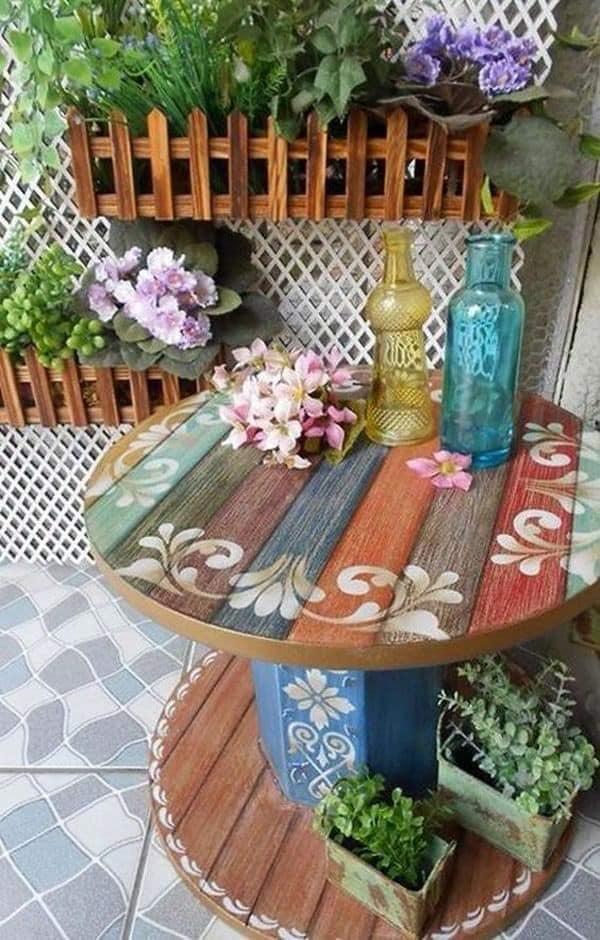 reuse wood reels