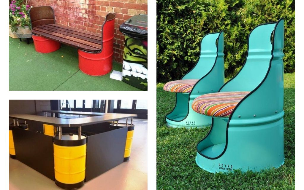 Outstanding Recycling Barrels Ideas for Outdoors