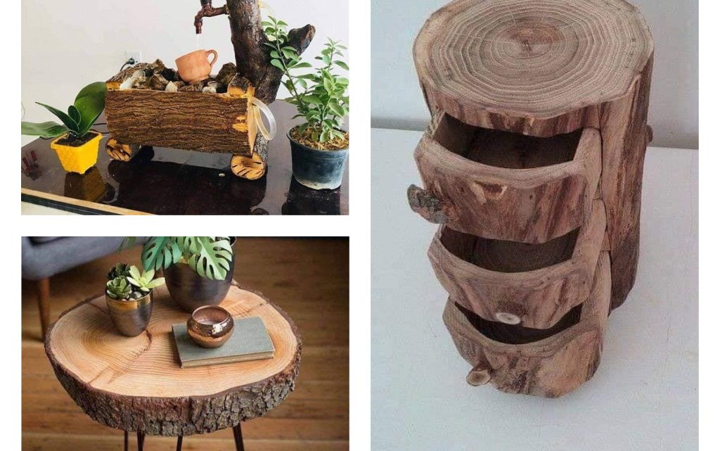 Impressive Ideas With Tree Stumps