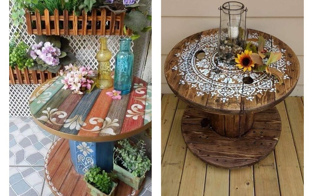 Amazing Ideas to Reuse Wood Reels