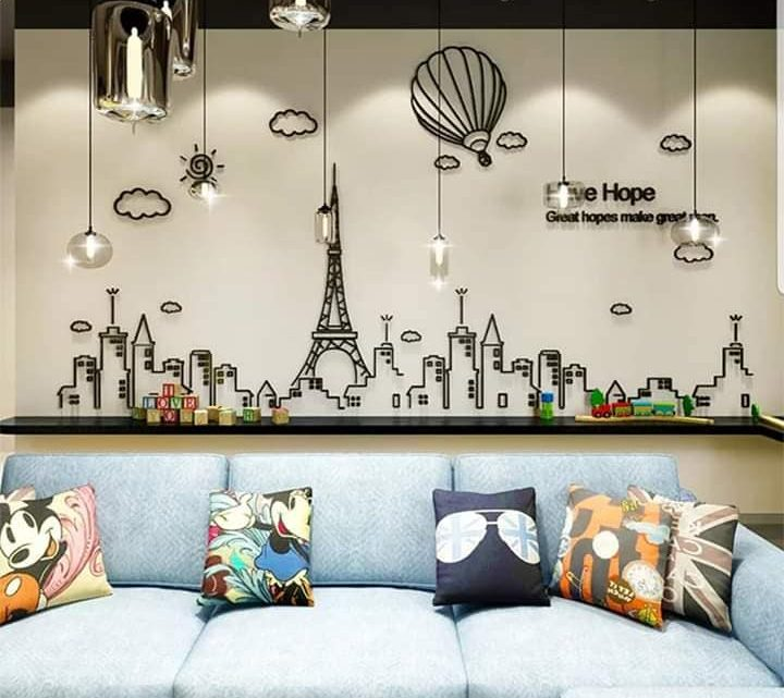 I Want These 3D Wall Stickers for my Home