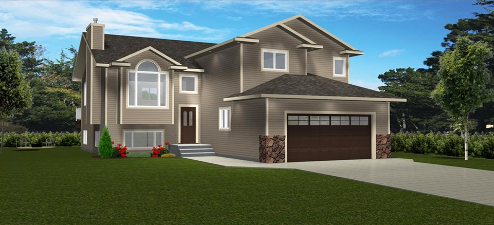 Exterior House Plans in 3D