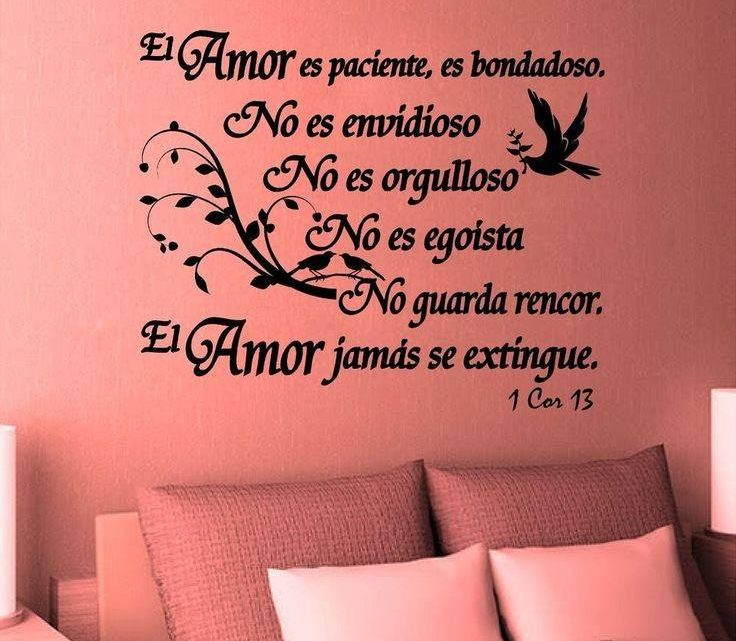 Inspirational 3D Sticker Quotes for House Walls Written on Espanol