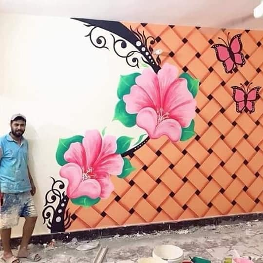 Wall Painting Can Replace the 3D Wallpapers