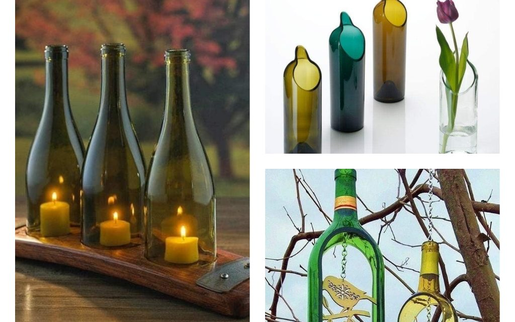 Glass Bottles Recycling Ideas Hereinafter