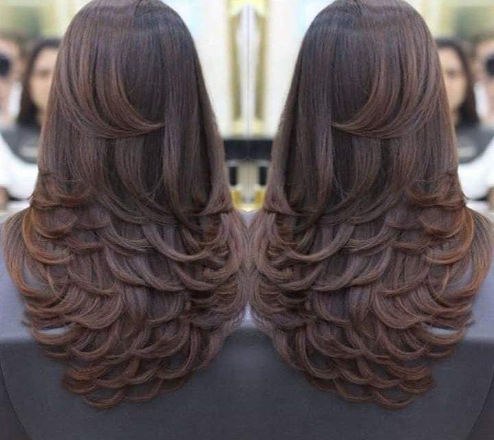 Layered Cuts in Trend!