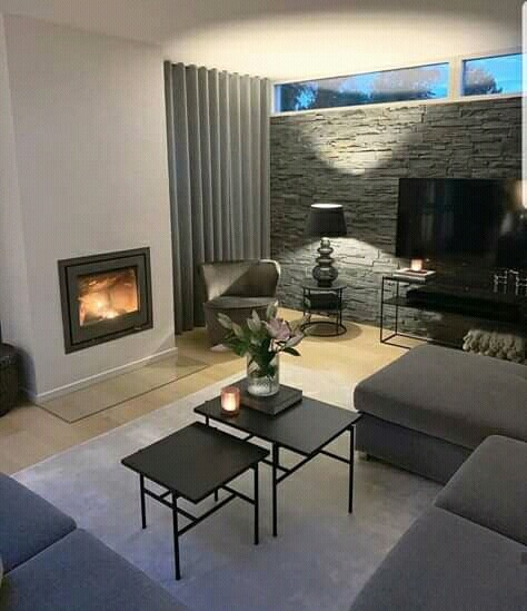 living room tones