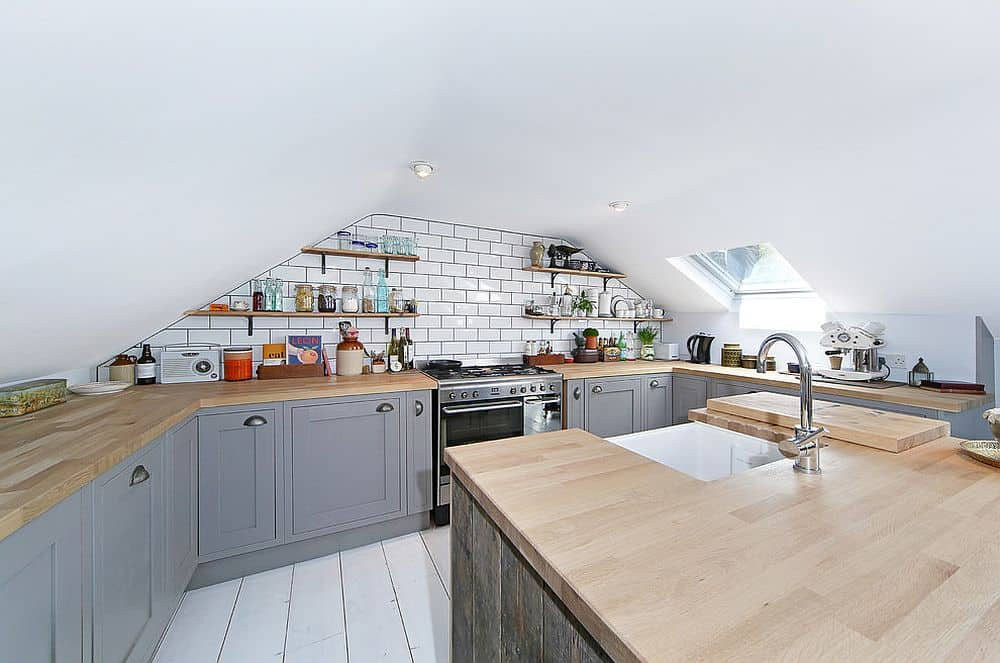 attic kitchen