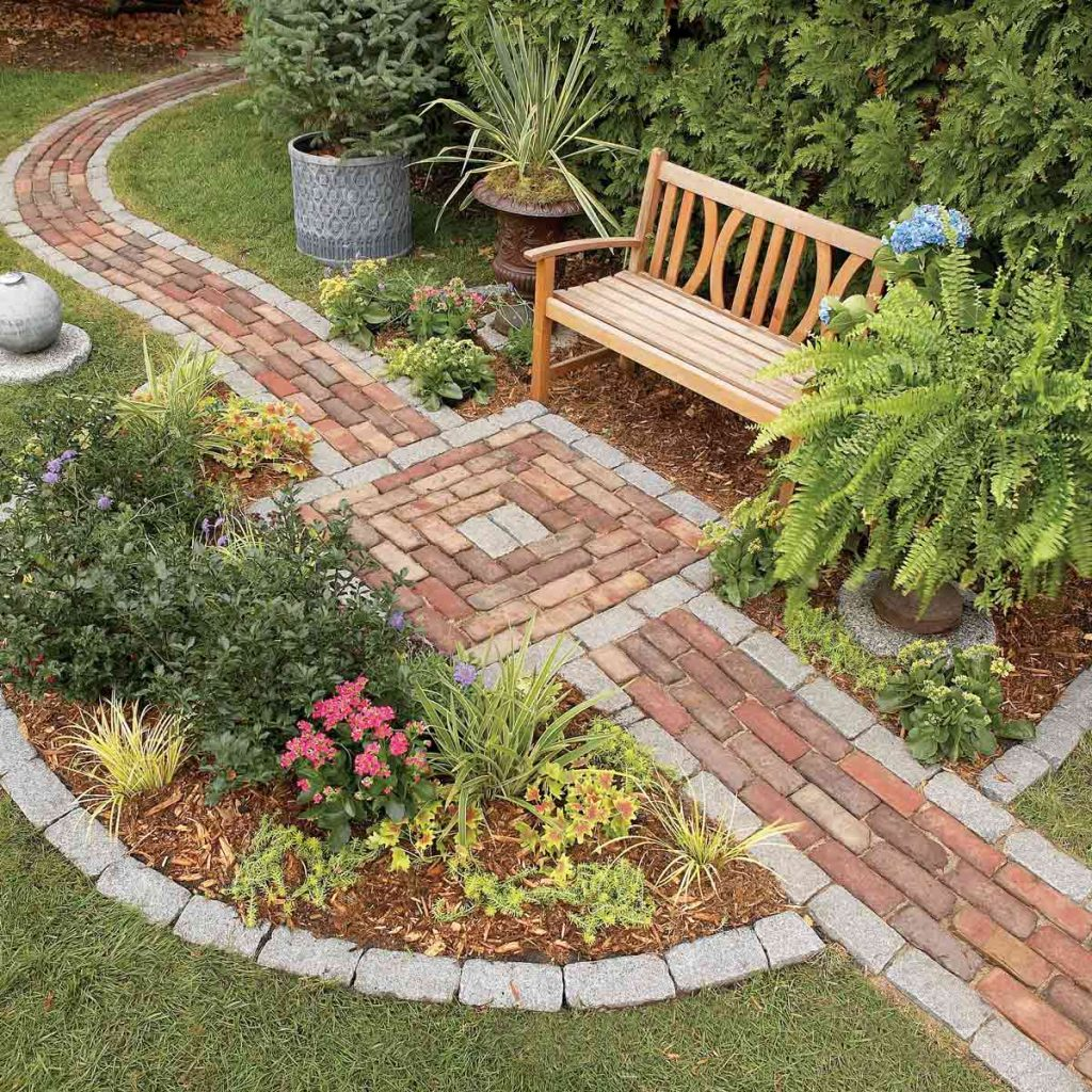 bricks pathways