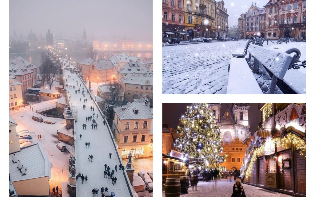 See Winter in Prague, the Czech Republic