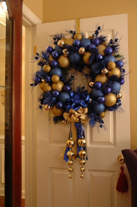 lamps wreath