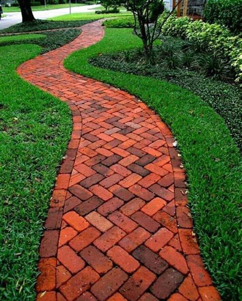 pathway in garden place