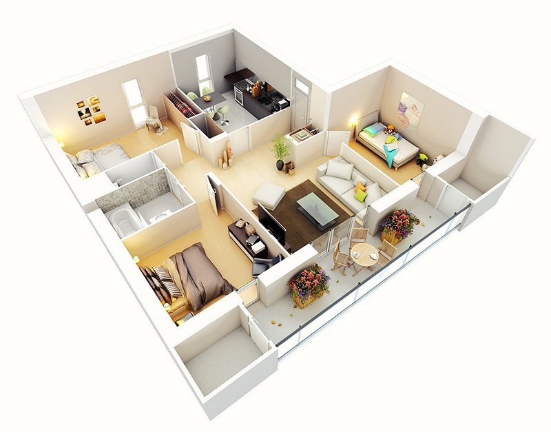 It's Time for 3D Architectural Floor Plans
