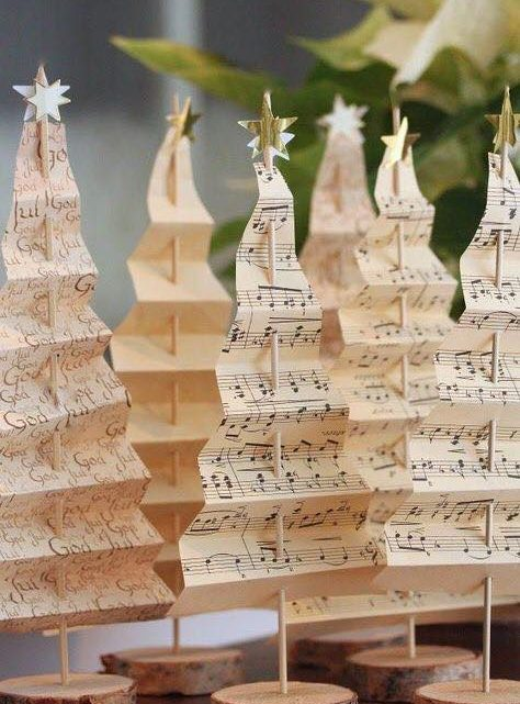 DIY Paper Christmas Trees that I Love it