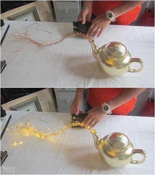 teapot lights