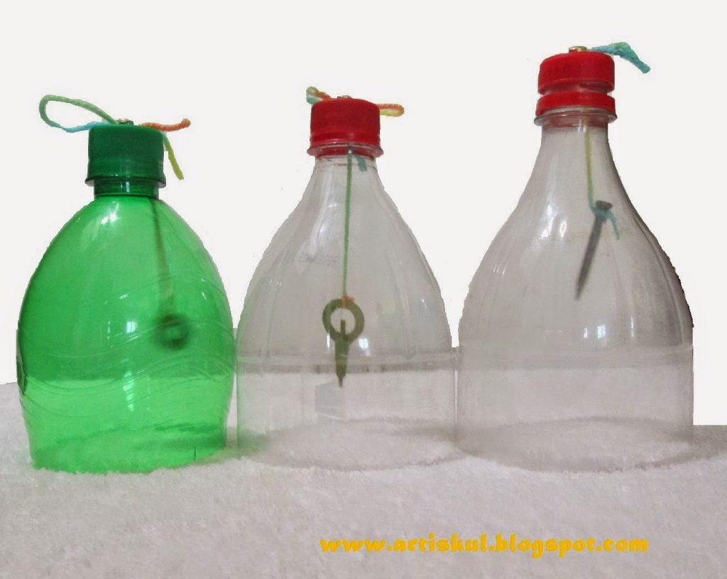 plastic bottle bells