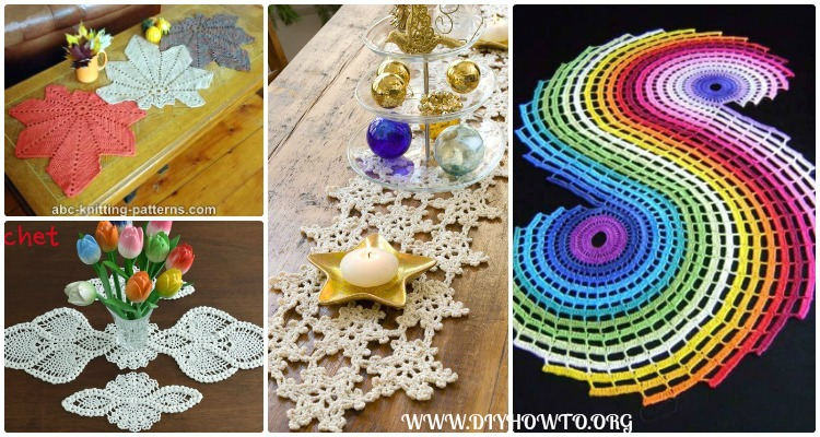 Cute Crochet Table Runner