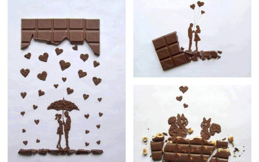Creativity With Chocolate, Chocolate Art