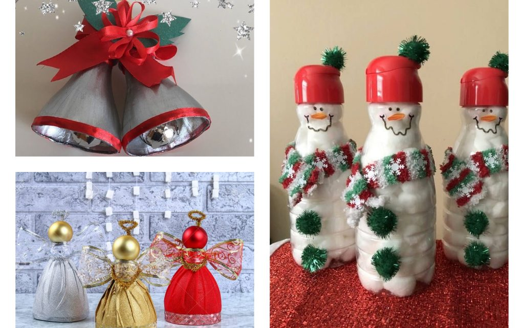 Plastic Bottles Ornaments – Christmas Crafts