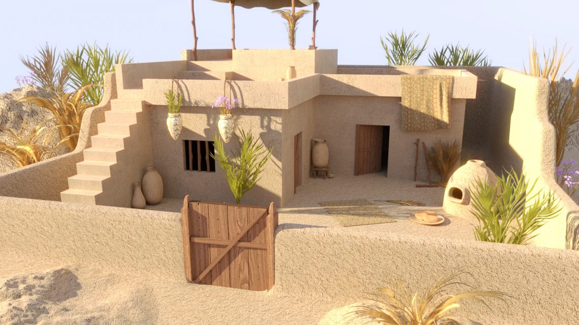 How Ancient Egyptian Homes Look Like