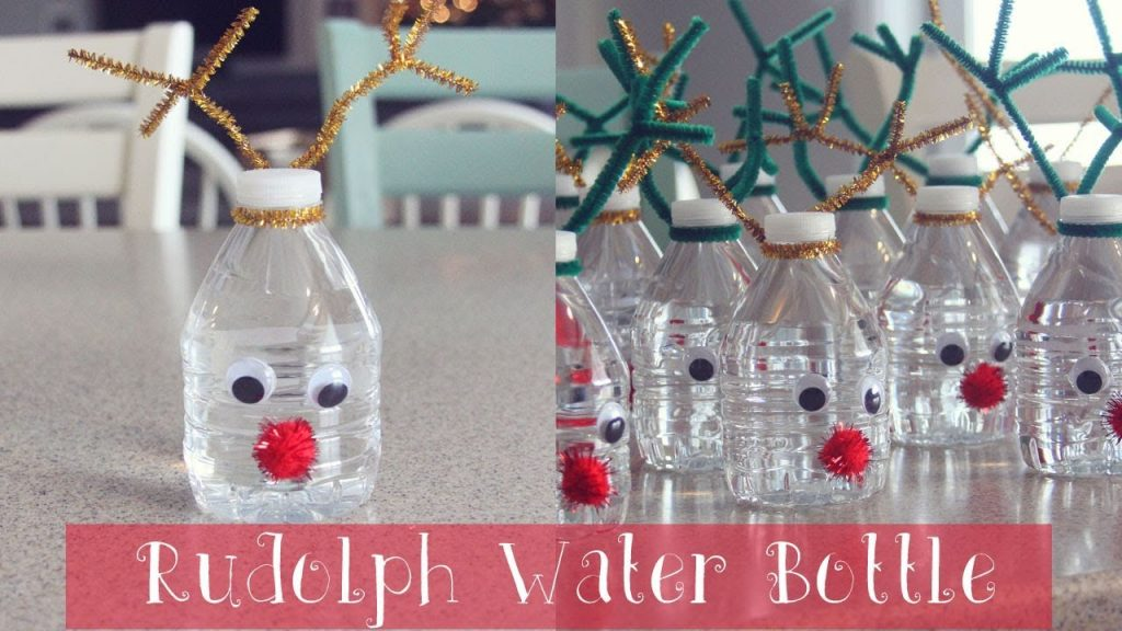 plastic bottles ornaments