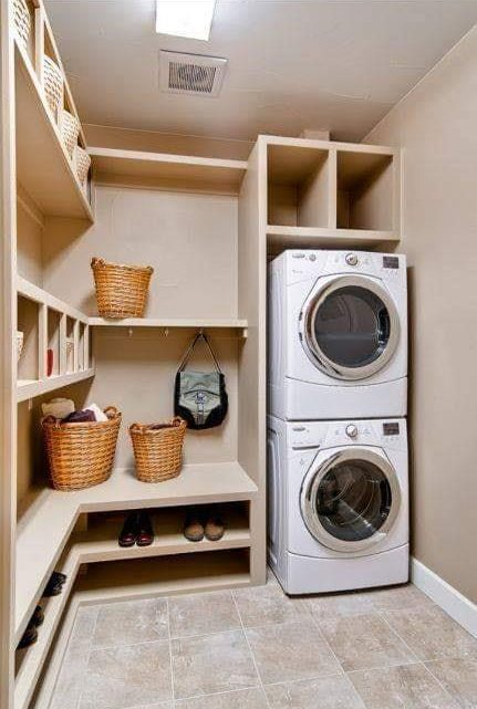 Ideas About the Brilliant Washing Room 👍🏻