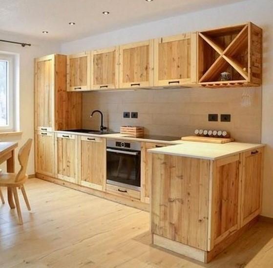 pallets reuse  - make kitchen